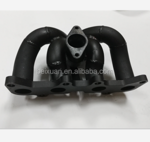 racing exhaust manifold for Toyota starlet EP82/EP91 4EFTE turbo T4 flange manifold
