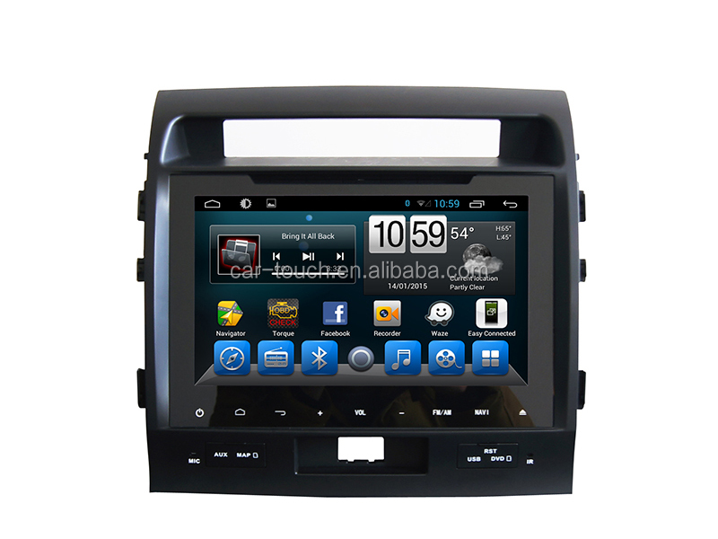 Touch screen 9 inch for TOYOTA LAND CRUISER 2007- 2013 car dvd player with dvd/cd/mp3/mp4/bluetooth/radio/pip/tv/gps/