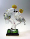Glass Animal Crystal Parrot Figurines