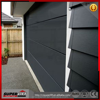 8x7 Feet Cheap Steel Garage Door For Residential Or Commerial Use