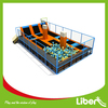 HOT SALE indoor trampoline, basketball hoop, foam pit,gymnastic equipment