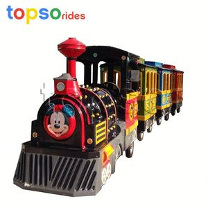 Professional Trackless Electric Train Ride For Kids And Adult Wholesales