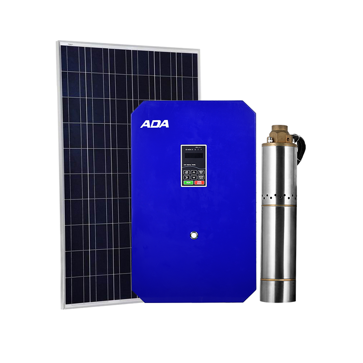 The best 4 inch solar water pump system power for irrigation deep well