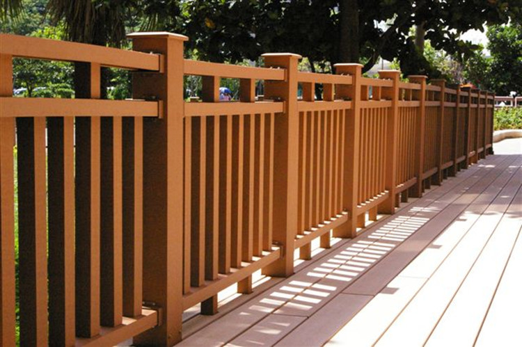 Timber Like Waterproof Products Handrail Bar Weather