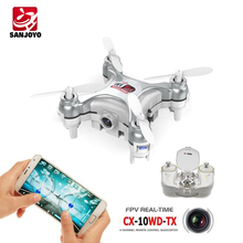 For Cheerson china model rc airplane CX-10WD-TX Mini Wifi High Hold rc model from china rc china direct Helicopter