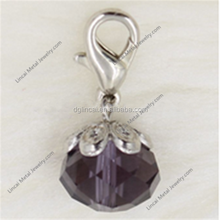 <span class=keywords><strong>Amethyst</strong></span> Februars Birthstone baumeln charms anhänger
