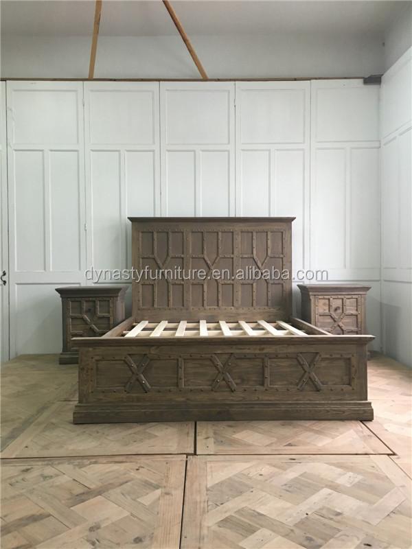 Venta al por mayor cabeceros de madera somier-Compre online los ...