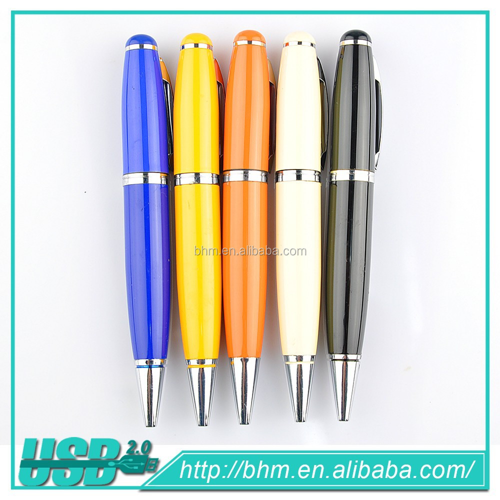 Pen Design USB Flash Drive, Promotion Portable usb Memory Stick with Logo Printing