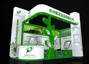 Small Modular Exhibition Stands : Small size modular exhibition booth design fabrication buy