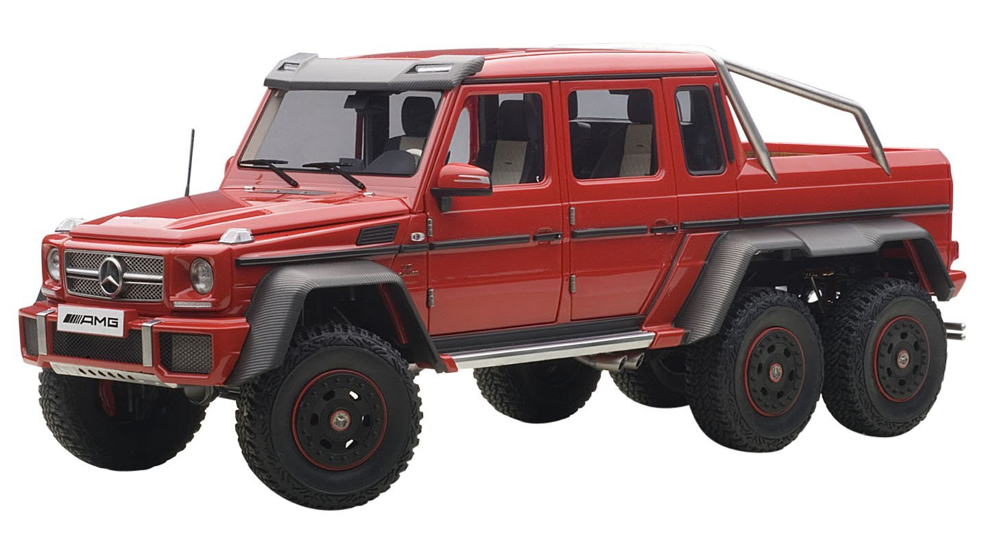 Buy Mercedes G63 Amg 6x6 Red 1 18 By Autoart 76304 In Cheap Price On Alibaba Com