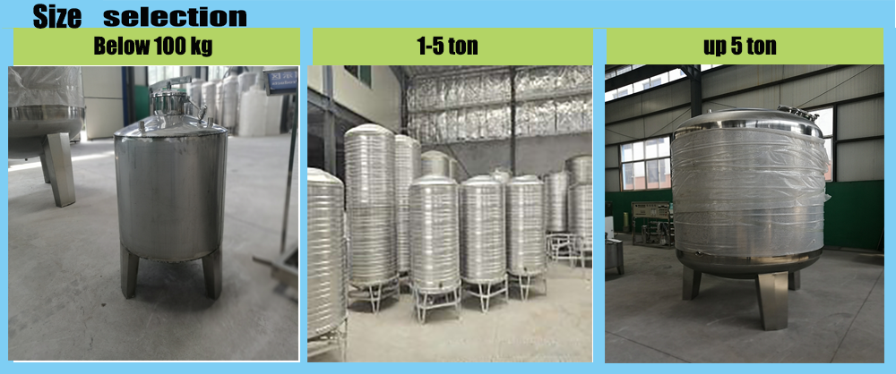 CHINA factory SS304/306/ FRP Material Precision filter housing and Water storage tank