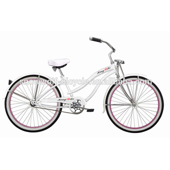 Lady Beachcruiser Fahrrad Mit Federung Gabel Leichte Fahrrad Sechsgang Weißen Strand Cruiser Sw Bc C30 Buy Weißen Strand Cruiserdame Beach