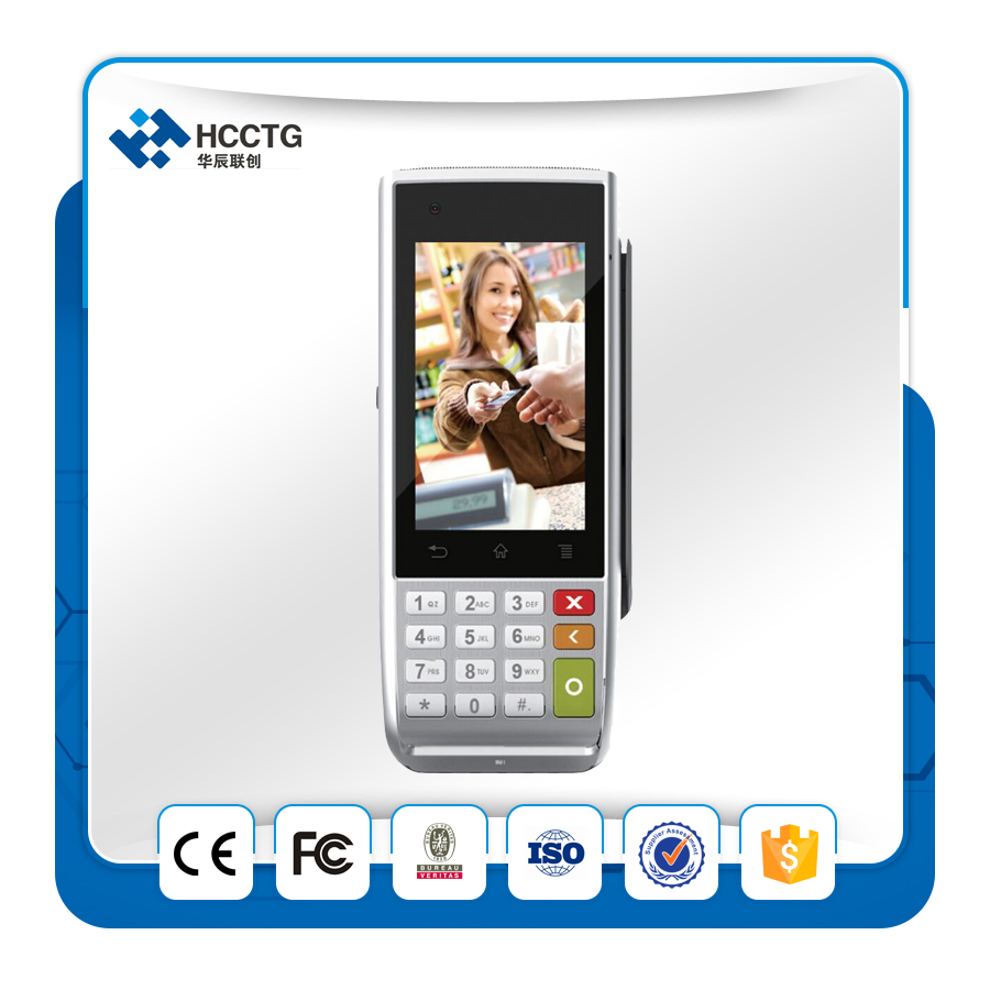 Smart Mobile Por Top-Up Handheld Pos Terminal /GPRS/3G/Wifi/Blutooth For Android