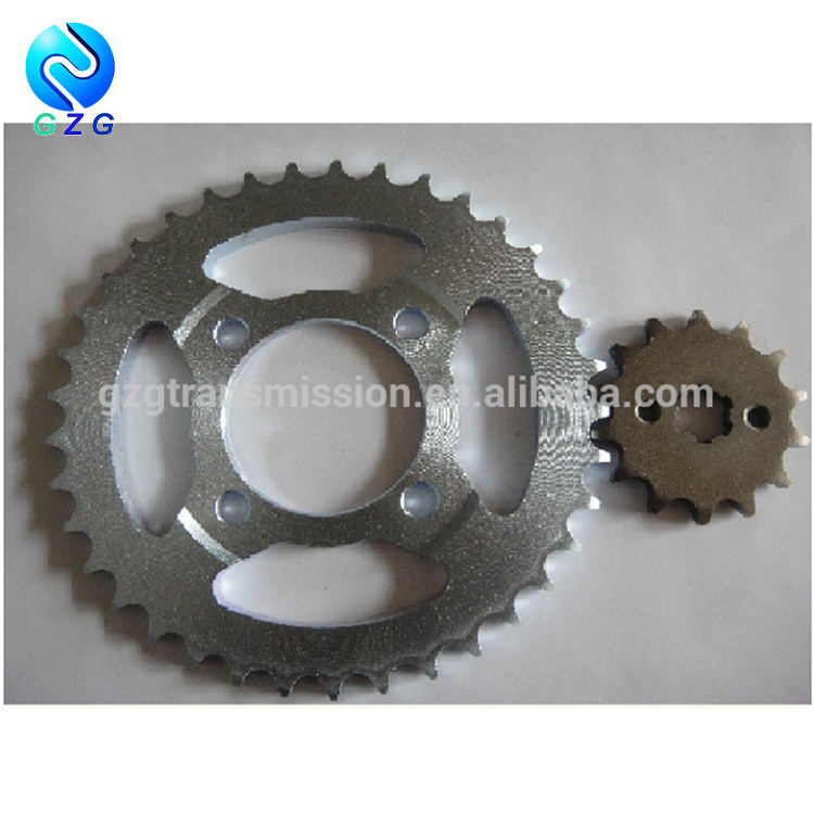 Hot Sale Standard Motorcycle Chain Wheel / Sprocket