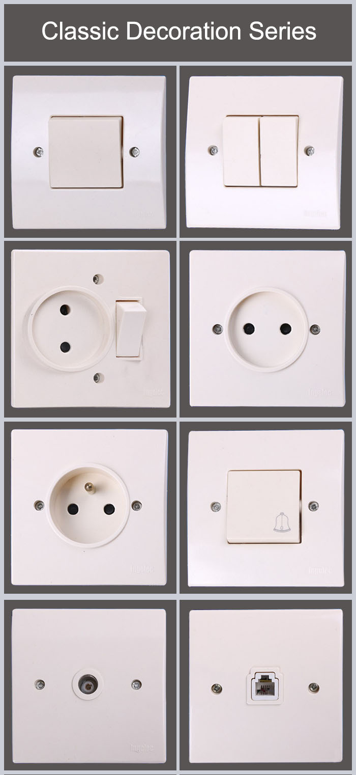 3 Pin 13 Amp Switch Sockets Power Outlet At High Quality