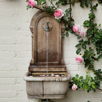 Wall fountain Entrance water fountain for sale