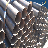 Factory Price 2-14m Erw Steel Pipe in Round Shape Made In China