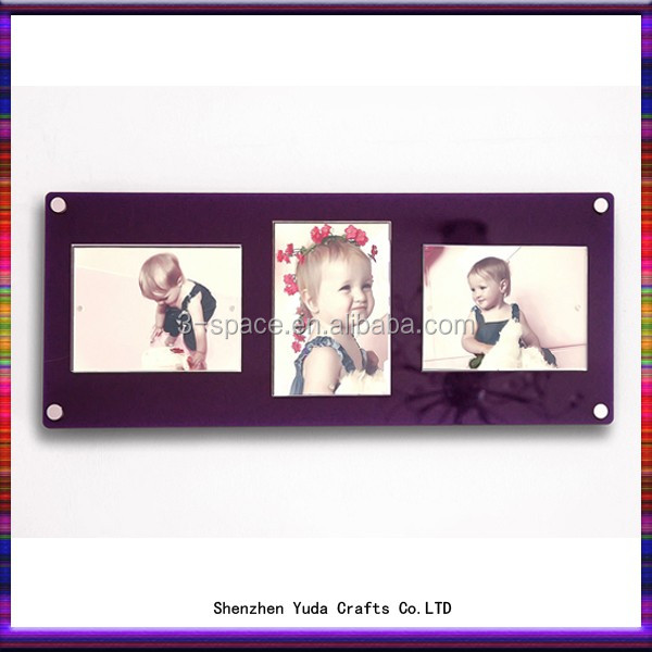perspex acrylic sandwich easy change picture photo frame plexiglass wall frame - Easy Change Artwork Frames