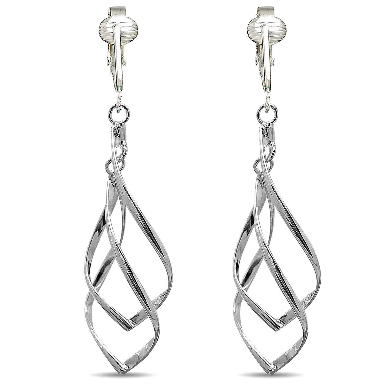Clip Silver Earrings Find Deals