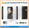Easy to Use HD Voice Dual Mode GSM WiFi SIP Phone for Business IP PBX