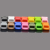 "1/2"" Colorful Contoured curved Side Release Plastic Buckles by Generic for Paracord Bracelet"