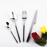 High quality stainless steel designs dinnerware sets with drill