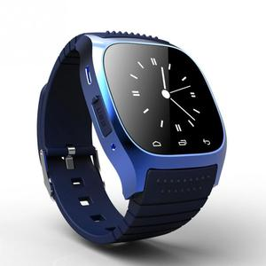 Sport Bluetooth Smart Watch Luxury Wristwatch M26 with Dial SMS Remind Pedometer for Samsung LG HTC IOS Android Phone