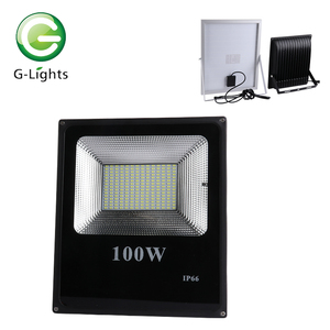 Battery operated fixture 6 12 volt ip65 20 30 40 50 60 100 watt dmx solar led flood light