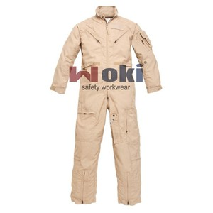 Tan Color Nomex Pilot Coveralls