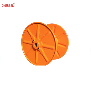 empty punching type steel wire cable reel