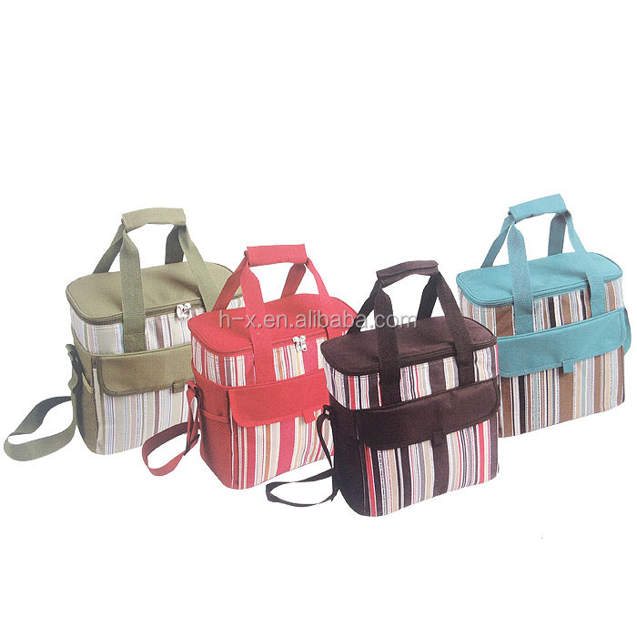 fashion 600D picnic tote bag