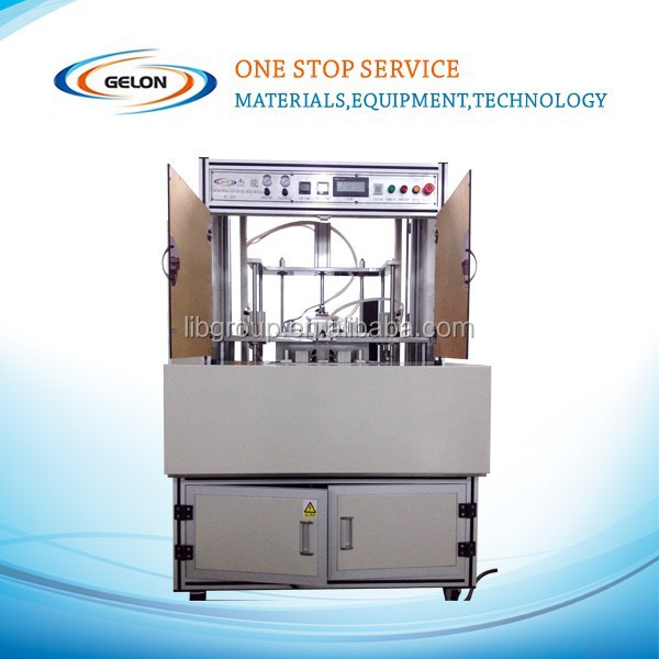 Turntable type vacuum sealing machine for lithium ion pouch battery sealing after battery formation GN-MC300