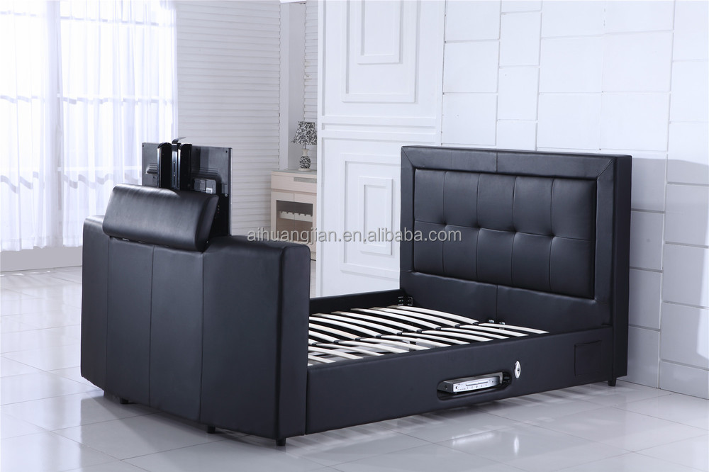 Bed With Tv In Footboard Tv Bed Under Bed Remote Tv Lift Buy Bed With Tv In Footboard Tv Bed
