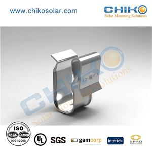High efficient clip lock solar mount for solar pv racking systems