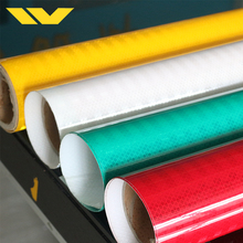Waterproof pvc retro flex banner transparent self adhesive acrylic sheet vinyl reflective film for road safety