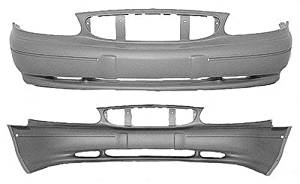 Crash Parts Plus Primed Front Bumper Cover Replacement for 2008-2009 Buick Allure LaCrosse