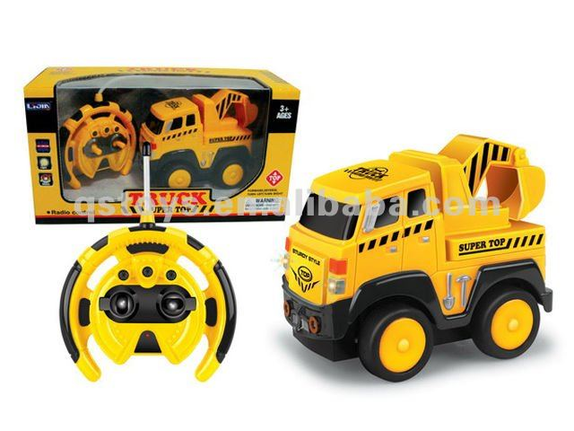R C Construction Trucks with music and sound QS111218049