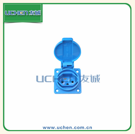 industrial use Switzerland Germany plug matched PA6 material waterproof socket