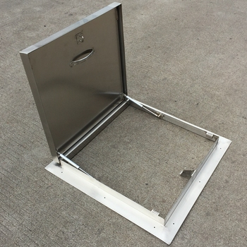 304 stainless steel material roof access hatch skylight 600mm800mm steel roof hatch - Roof Hatch