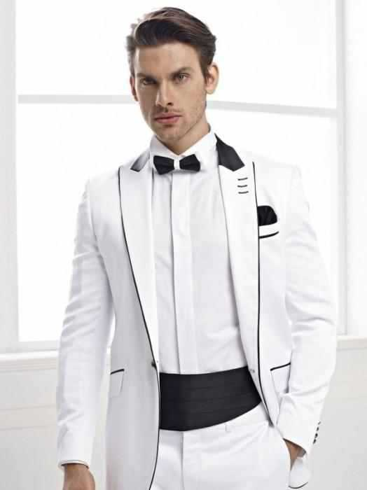 Get Quotations 2017 New Arrival White Groom Tuxedos Peak Lapel Wedding Suits Men S Formal Prom Business Suit