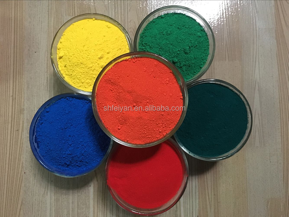 Hot sale epoxy floor paint iron oxide red pigments manufacturer