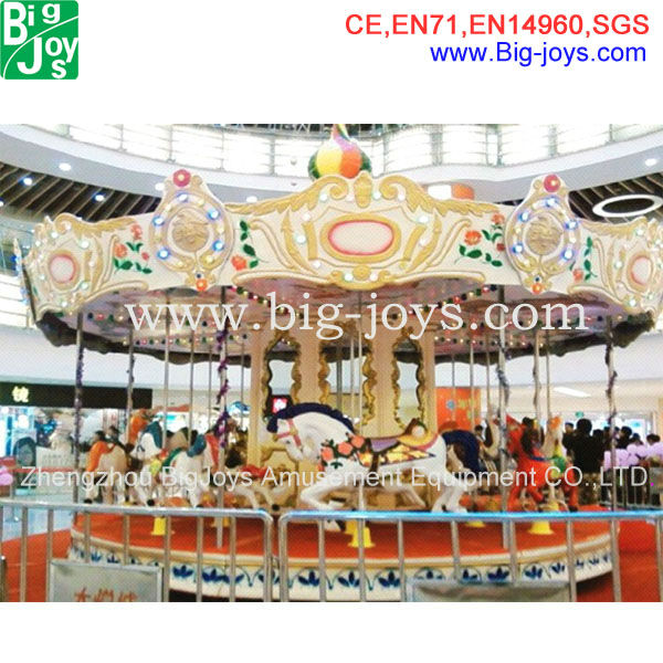 Professional manufacturers electric toy merry go round kids carousel
