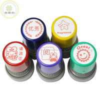 Flash rubber stamp supply/Educational flash reward teacher stamps