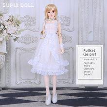 OUENEIFS Supia Juah 1/3 модель тела для мальчиков и девочек игрушки высокого качества магазин полимерная фигурка подарки на Рождество BJD SD куклы полны...(Китай)