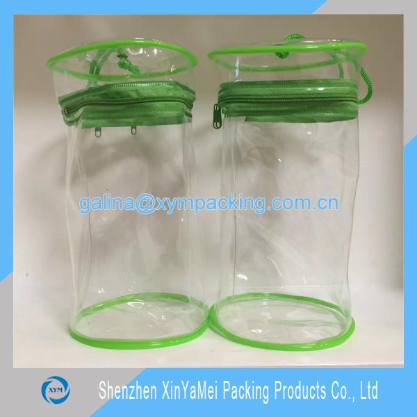 Non Toxic Pvc Transparent Pencil Case