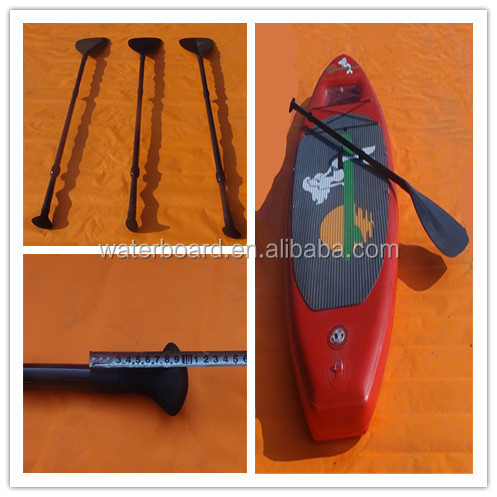 sup carbon fiber plastic canoe paddle/inflatable sup paddle board/high quality carbon fiber kayak paddle