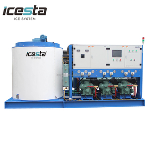 outdoor ice maker machine for concrete cooling and skiing resort