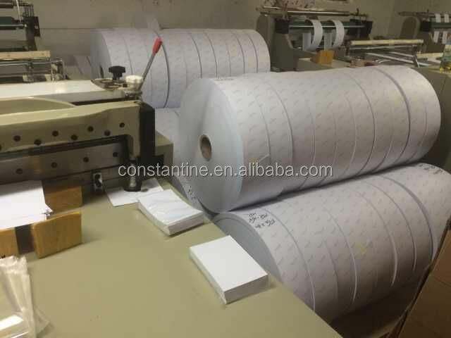 Hot metal gule adhesive sticker paper A3 A4 size