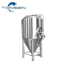 The factory price stainless steel 100 gallon conical beer fermentation tank