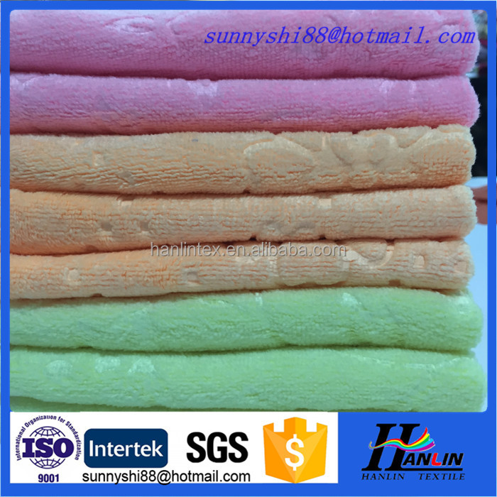 Super Water Absorption Professional Hair-drying Microfiber Towel Wholesale cheap microfiber football printed kitchen towel/tea